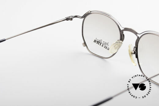 Jean Paul Gaultier 55-2171 90's Vintage JPG Frame, frame is made for lenses of any kind (optical / sun), Made for Men and Women