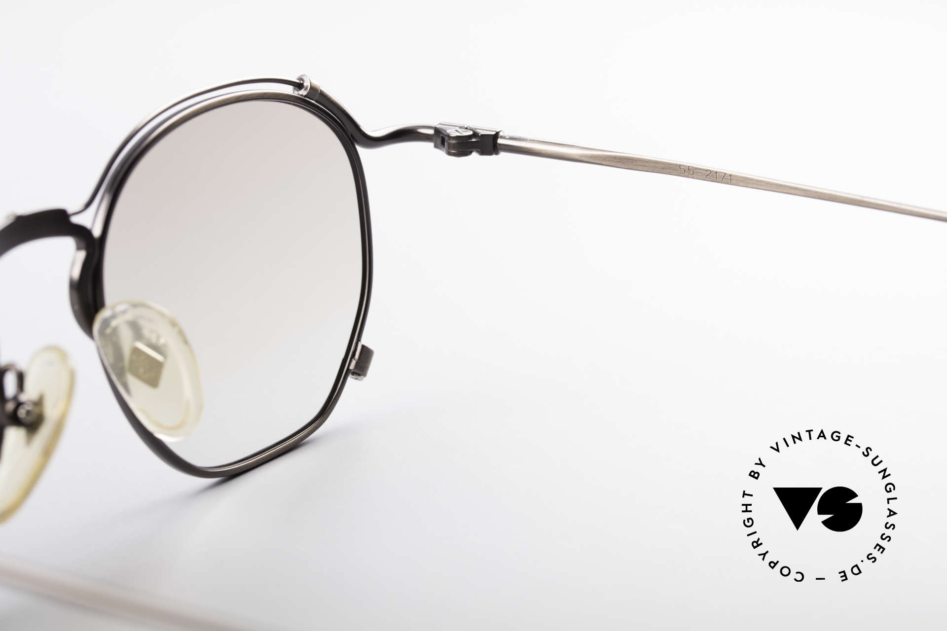 Jean Paul Gaultier 55-2171 90's Vintage JPG Frame, Size: medium, Made for Men and Women