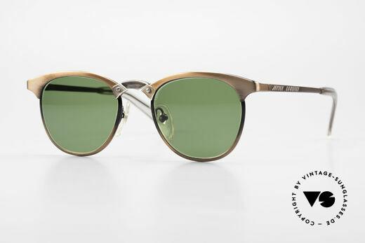 Jean Paul Gaultier 57-0175 Rare 90's Panto JPG Sunglasses Details