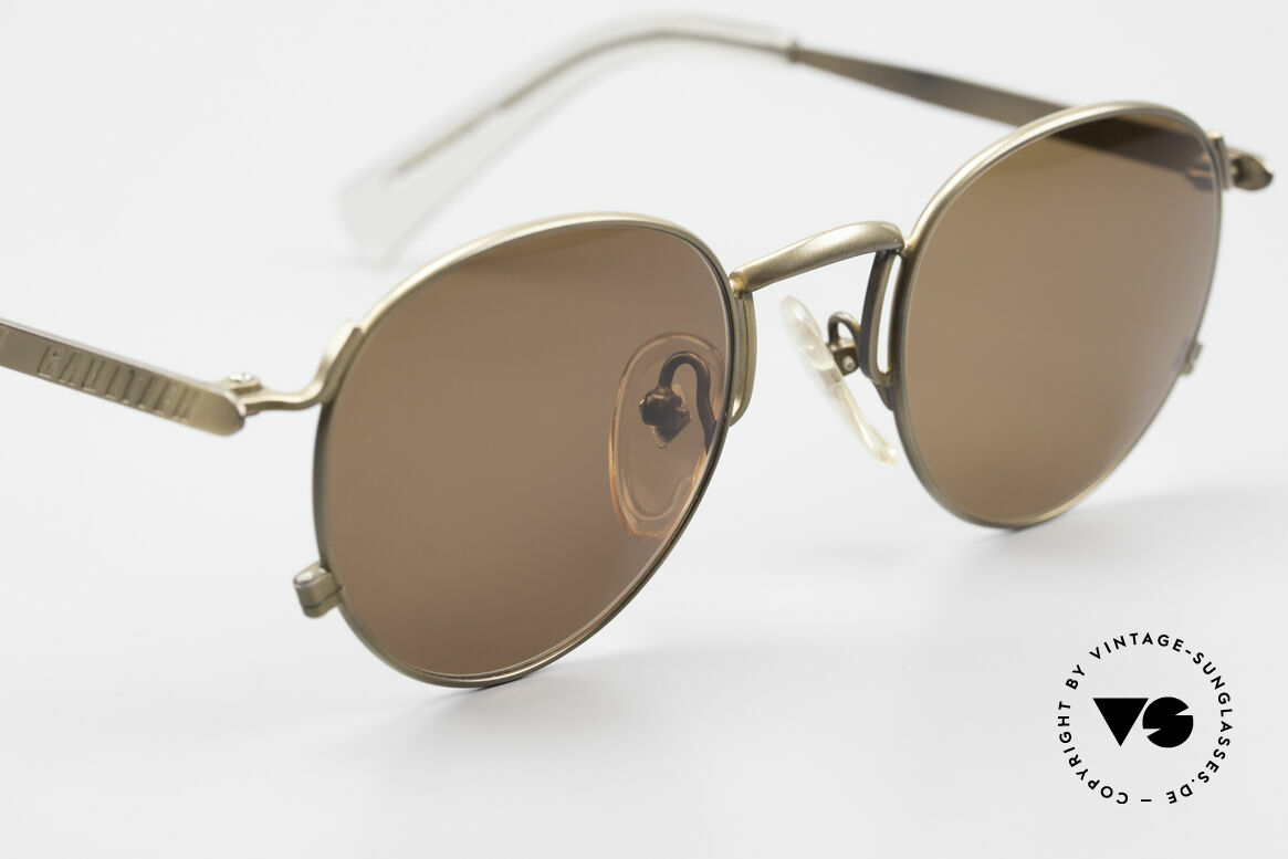 Jean Paul Gaultier 57-1171 90's JPG Designer Sunglasses, NO RETRO FASHION, but an original from 1995/96, Made for Men and Women