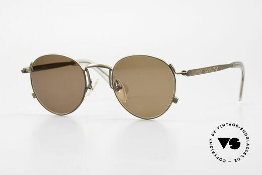 Jean Paul Gaultier 57-1171 90's JPG Designer Sunglasses Details