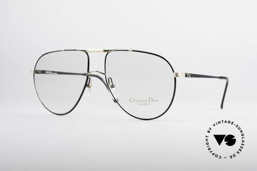 Christian Dior 2248 XXL 80's Eyeglasses Details