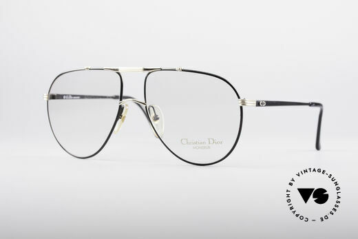 Christian Dior 2248 XL 80's Eyeglasses Details