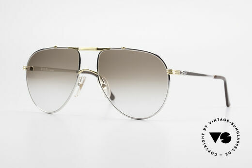 Christian Dior 2248 Large 80's Aviator Sunglasses Details