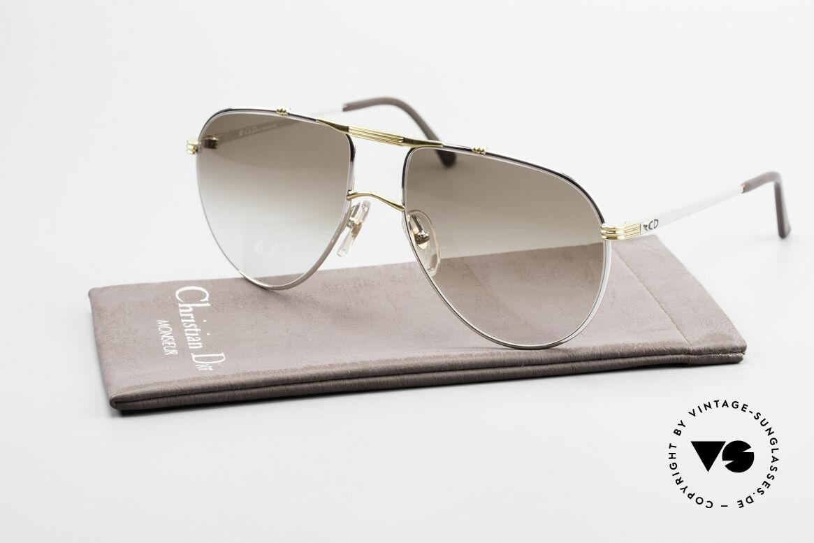 Christian Dior 2248 Large 80's Aviator Sunglasses