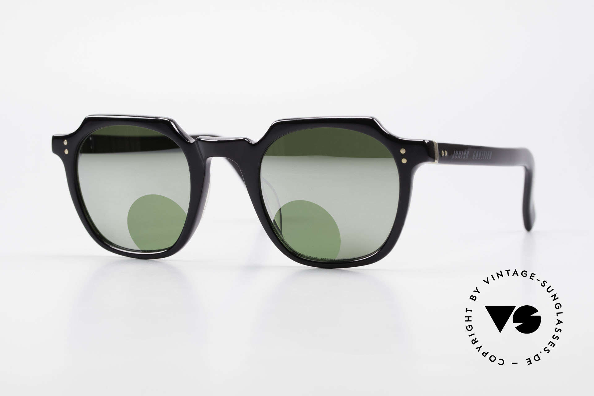 Jean Paul Gaultier 58-0071 Mirrored Lenses With Peephole, ingenious 1990's sunglasses by Jean Paul Gaultier, Made for Men and Women