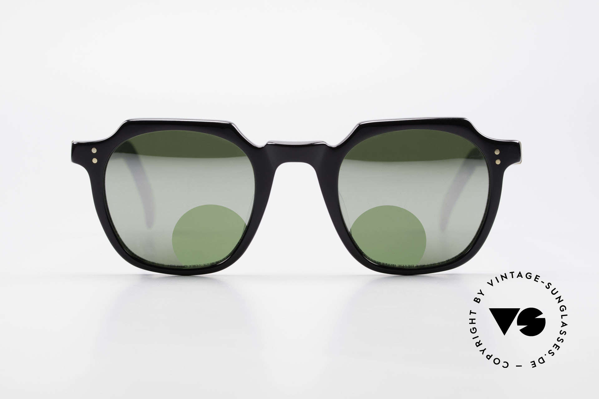 Jean Paul Gaultier 58-0071 Mirrored Lenses With Peephole, mirrored lenses with 'peephole' for reading purposes, Made for Men and Women