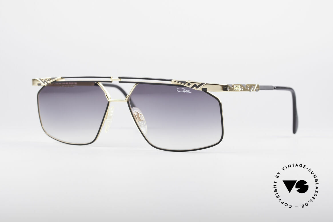 Cazal 966 90's Men's Designer Shades, very masculine Cazal model from the mid 1990's, Made for Men