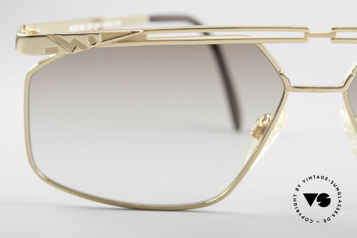 Cazal 966 90's Men's Designer Shades, lenses have tiny scratches, thus reduced to 449 Euro, Made for Men