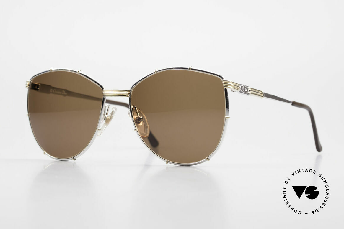 Christian Dior 2472 80's Vintage Designer Shades, orig. Christian Dior designer sunglasses from 1988, Made for Women
