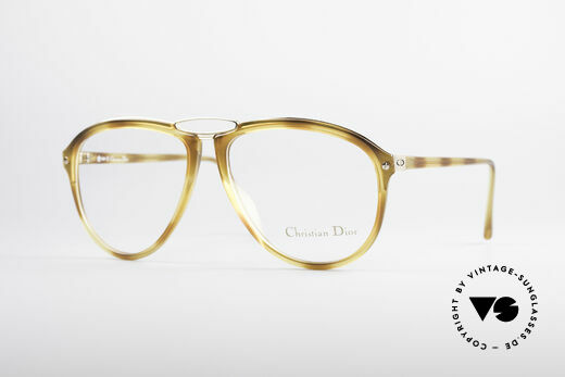 Christian Dior 2523 80's No Retro Glasses Men Details