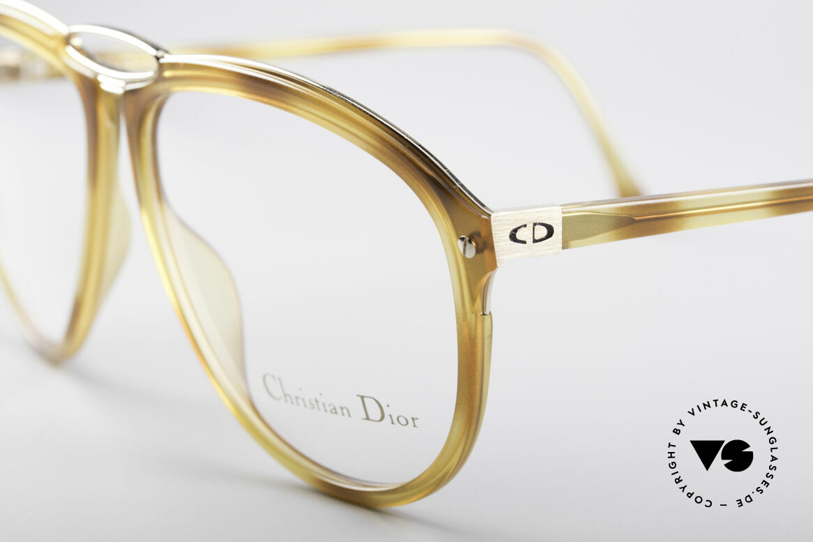 Christian Dior 2523 80's No Retro Glasses Men, tangible premium craftsmanship (made in Germany), Made for Men