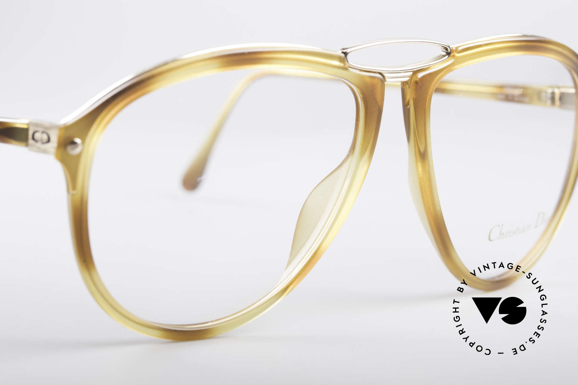 Christian Dior 2523 80's No Retro Glasses Men, new old stock (like all our vintage 80's Dior glasses), Made for Men