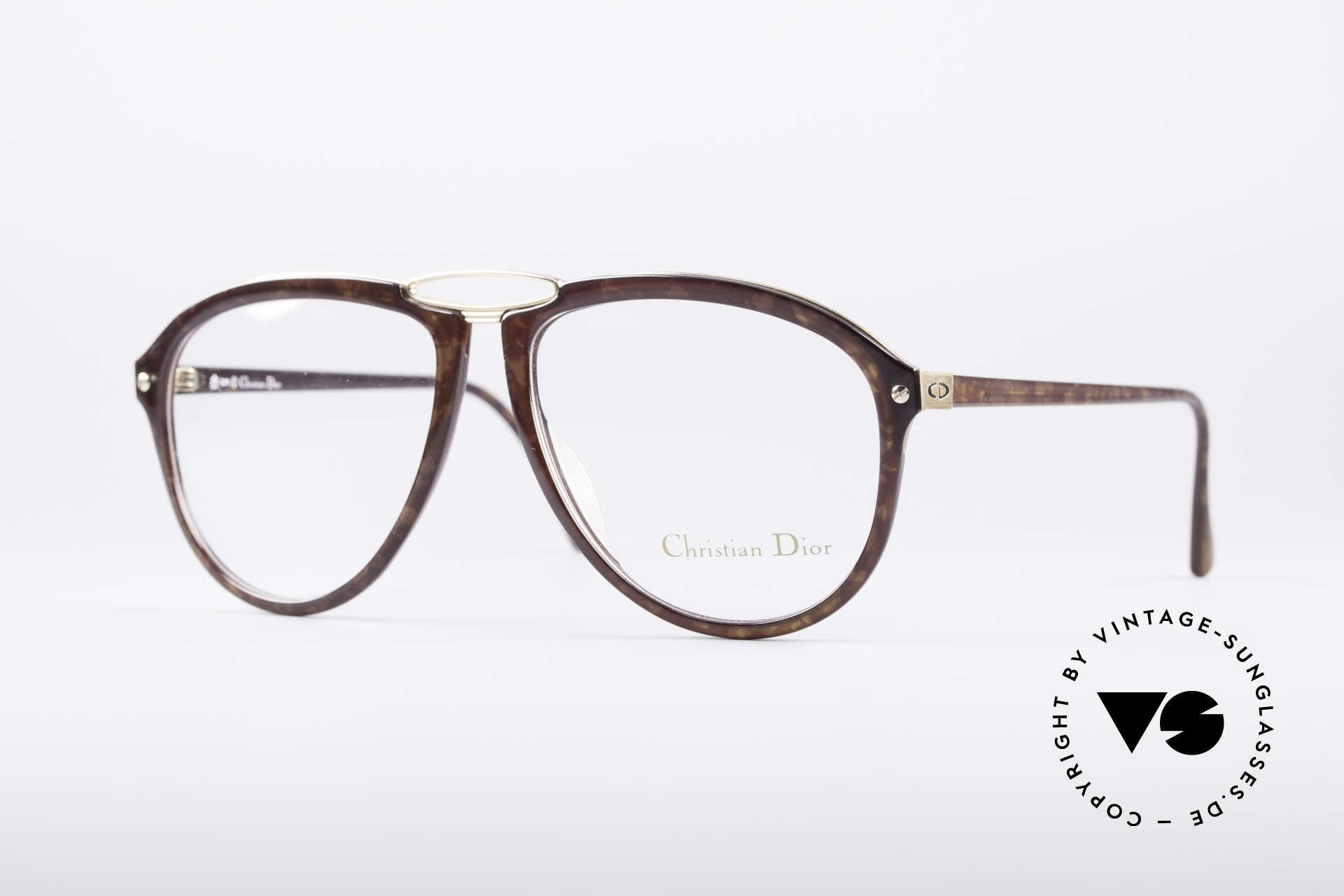 Christian Dior 2523 80's No Retro Glasses, unique vintage designer glasses by Christian Dior, Made for Men