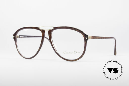 Christian Dior 2523 80's No Retro Glasses Details