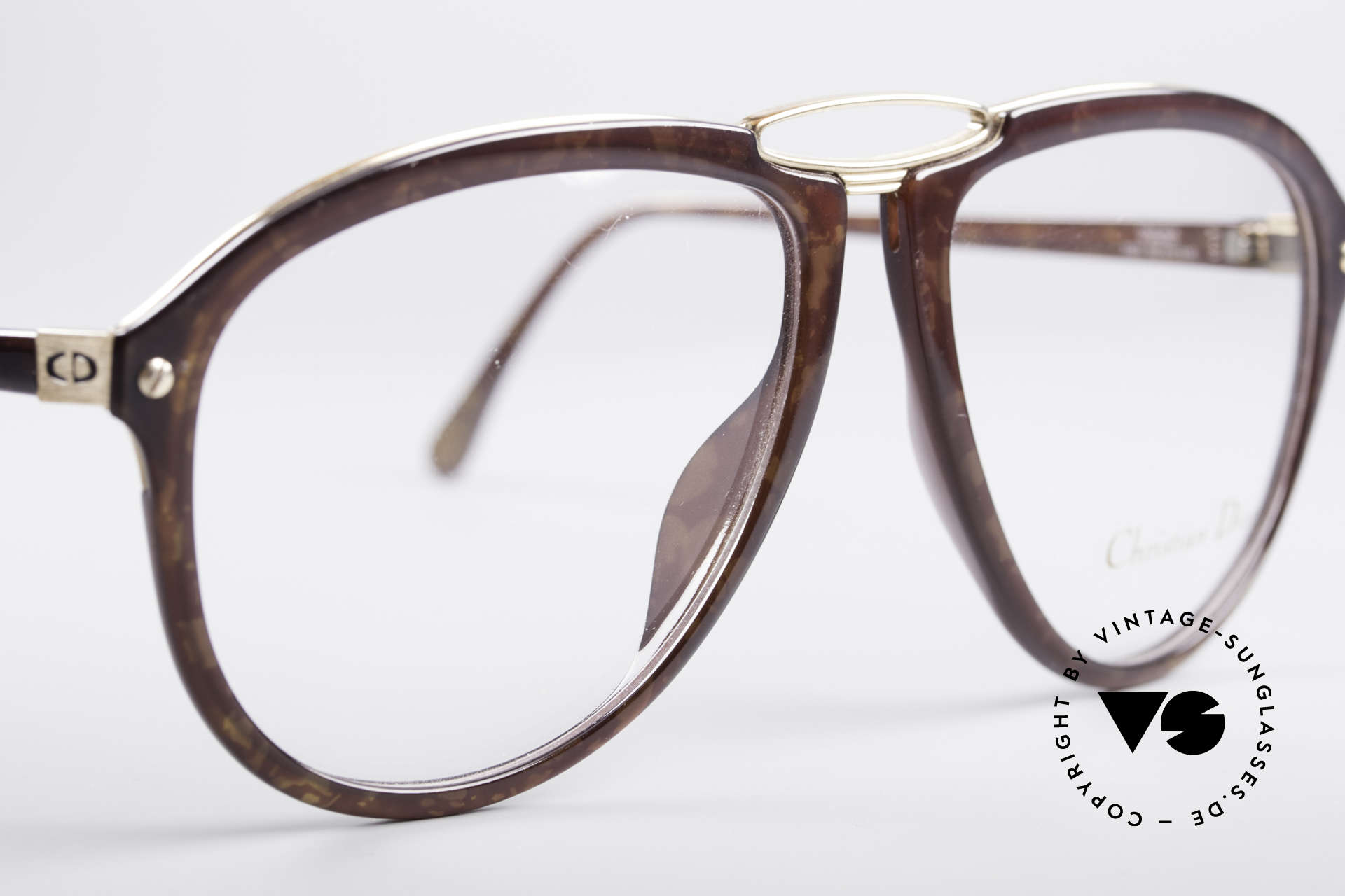Christian Dior 2523 80's No Retro Glasses, new old stock (like all our vintage 80's Dior glasses), Made for Men