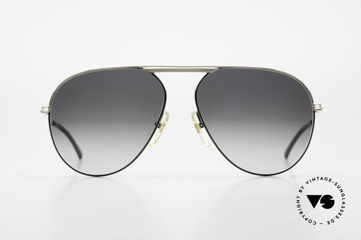 Christian Dior 2536 Rare 80's XXL Vintage Shades, top quality (bridge & temples are gold-plated), Made for Men