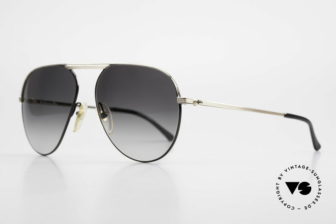 Christian Dior 2536 Rare 80's XXL Vintage Shades, XXL version in size 61-15 (147mm frame width), Made for Men