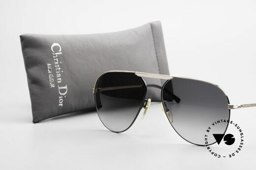 Christian Dior 2536 Rare 80's XXL Vintage Shades, NO retro shades, but an old original from 1989!, Made for Men