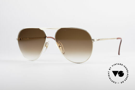 Christian Dior 2536 Gold Plated 80's Frame Details