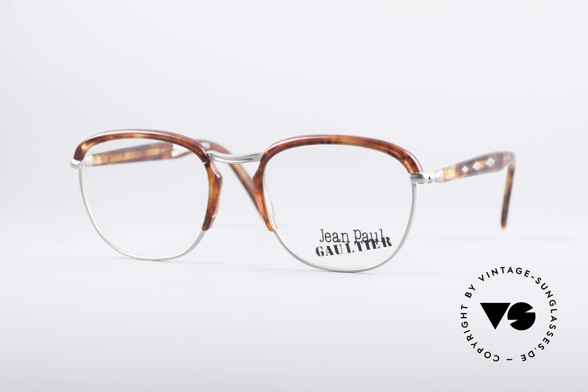 Jean Paul Gaultier 55-1273 Vintage 90's Specs, 90's vintage Gaultier designer eyeglass-frame, Made for Men and Women