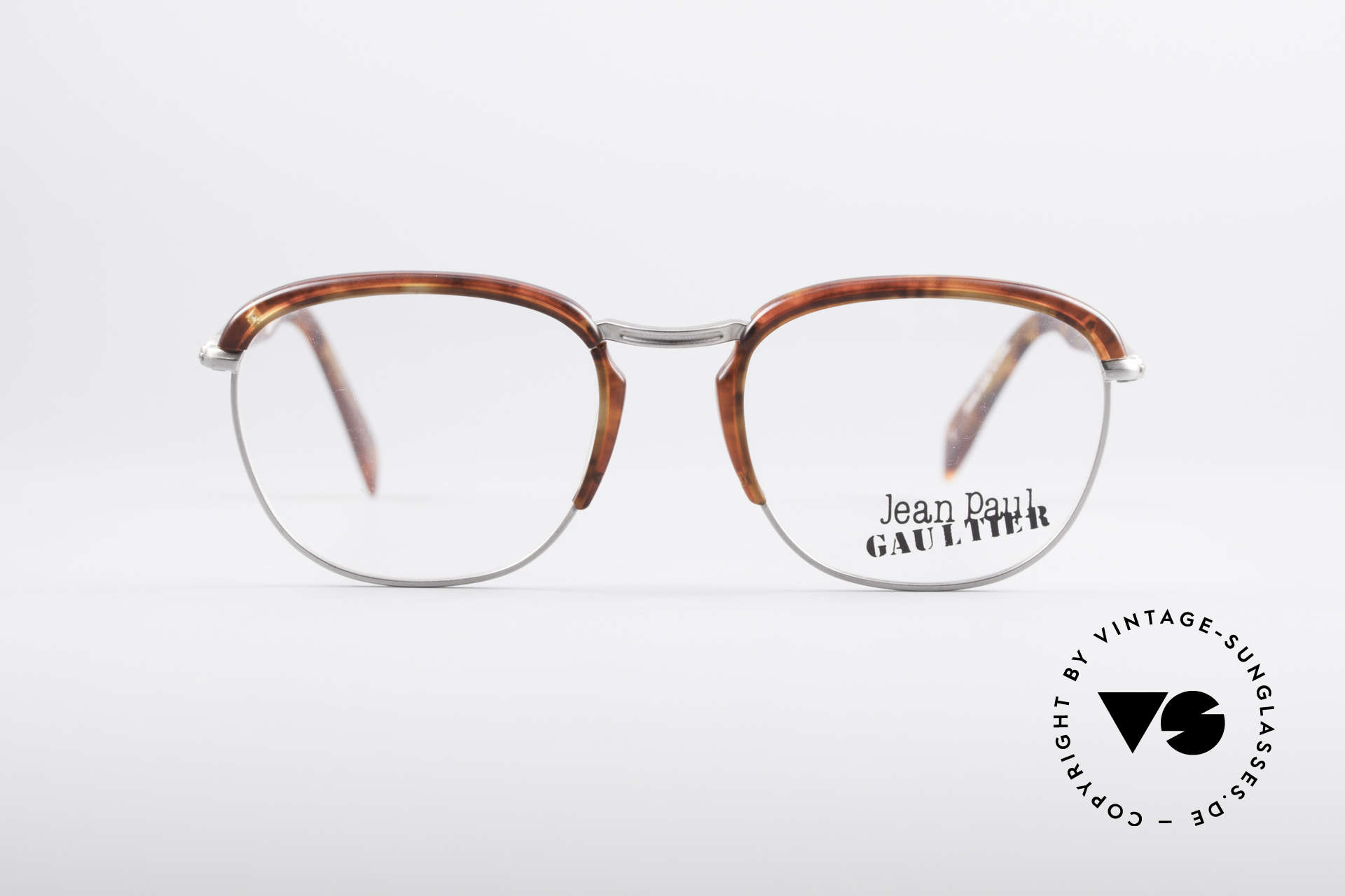 Jean Paul Gaultier 55-1273 Vintage 90's Specs, lightweight frame and very pleasant to wear, Made for Men and Women