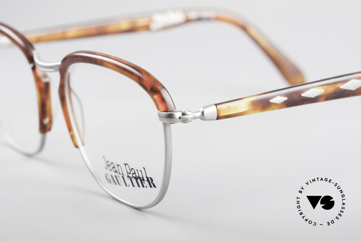 Jean Paul Gaultier 55-1273 Vintage 90's Specs, unused (like all our vintage Gaultier glasses), Made for Men and Women
