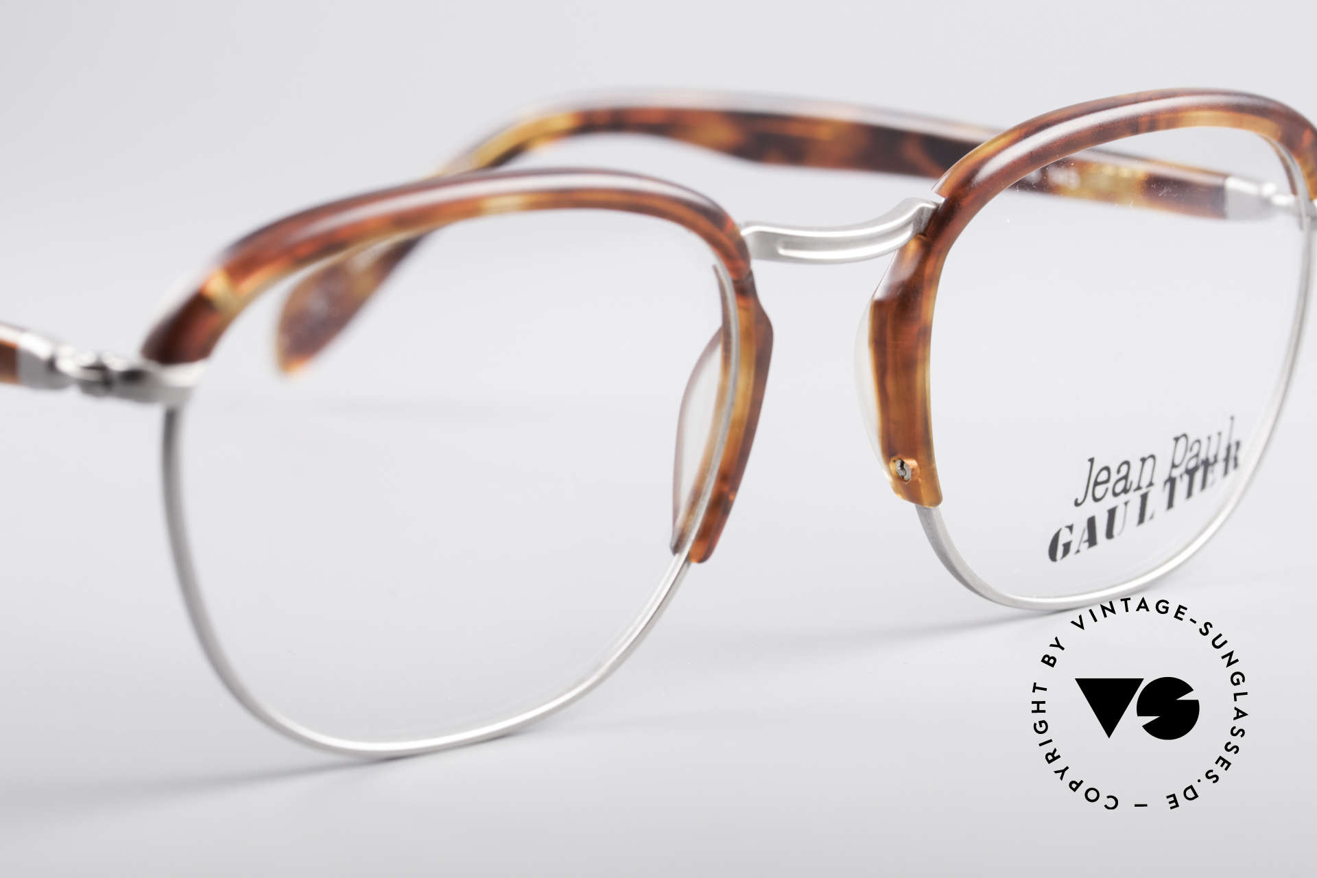 Jean Paul Gaultier 55-1273 Vintage 90's Specs, NO retro specs, but an old original from 1993, Made for Men and Women