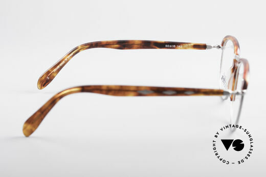 Jean Paul Gaultier 55-1273 Vintage 90's Specs, the frame (small size) is made for prescriptions, Made for Men and Women