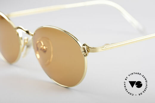 Jean Paul Gaultier 57-2172 Gold Plated Frame
