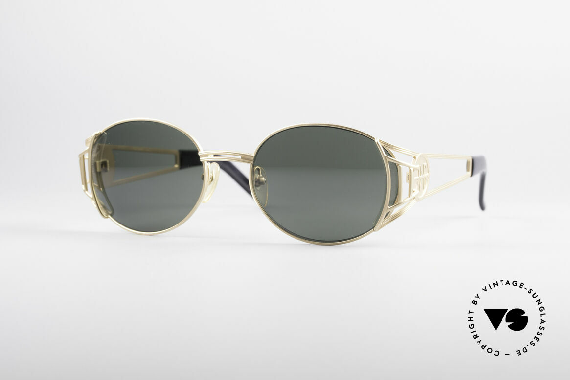 Jean Paul Gaultier 58-6102 Steampunk Designer Shades, valuable and creative Jean Paul Gaultier design, Made for Men and Women