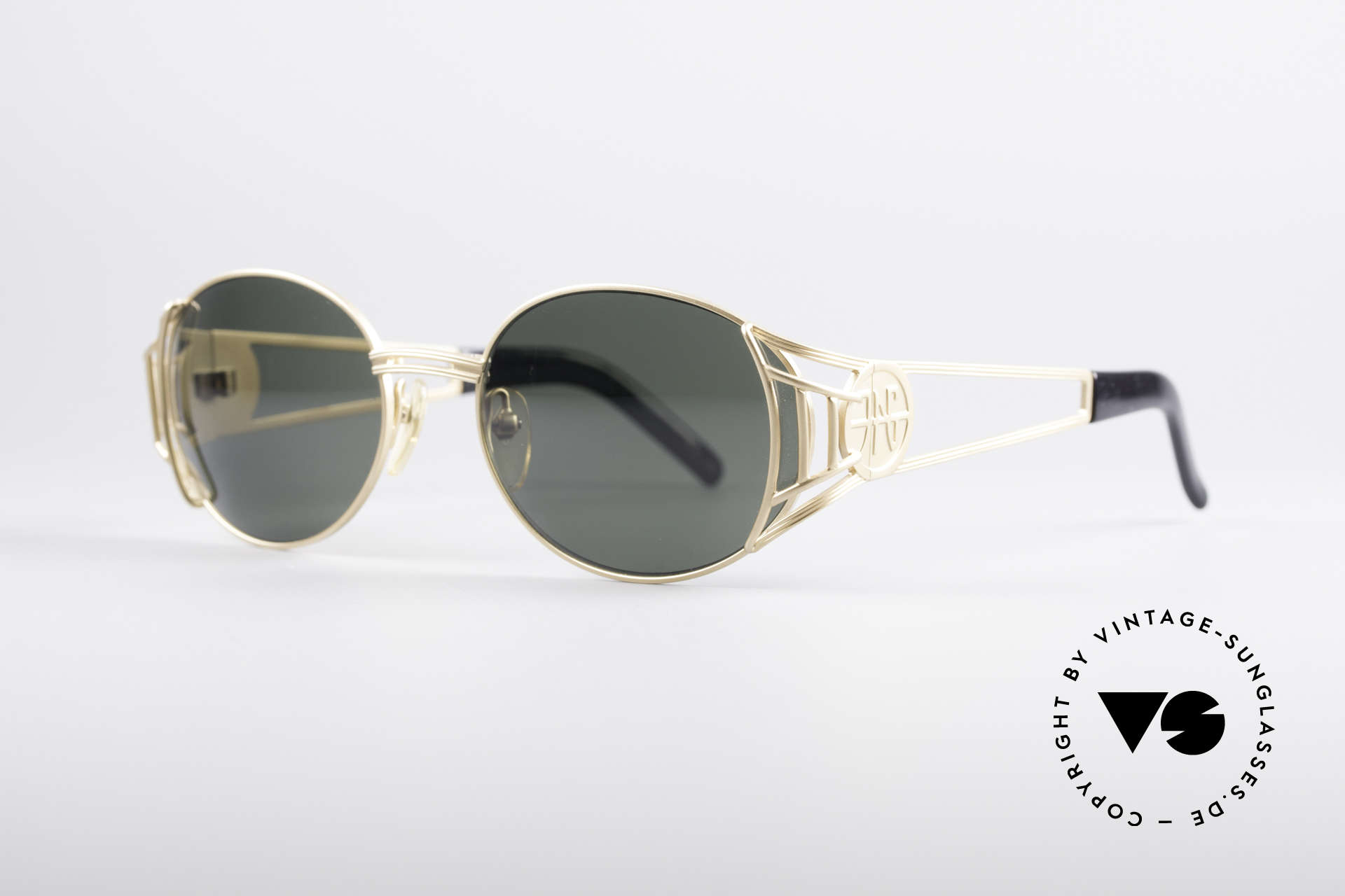 """Jean Paul Gaultier 58-6102 Steampunk Designer Shades, often called as """"Steampunk Shades"""", these days, Made for Men and Women"""