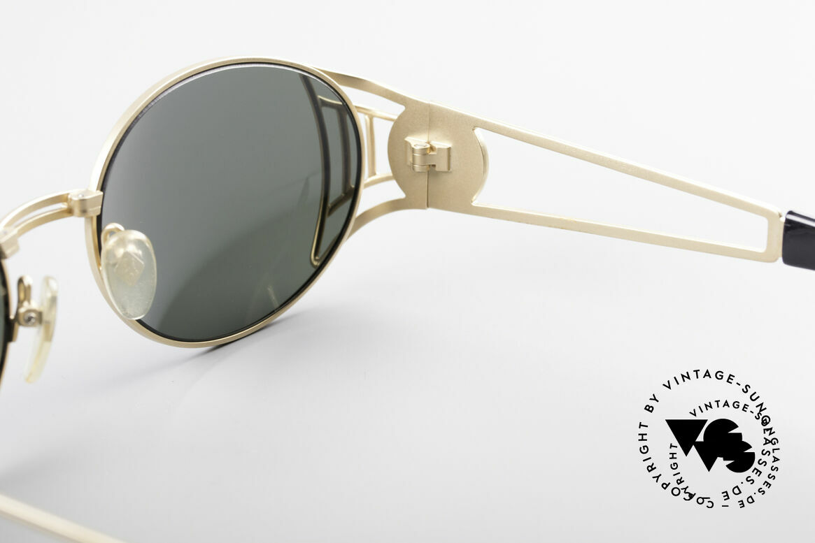 Jean Paul Gaultier 58-6102 Steampunk Designer Shades, NO RETRO sunglasses, but a 20 years old original, Made for Men and Women