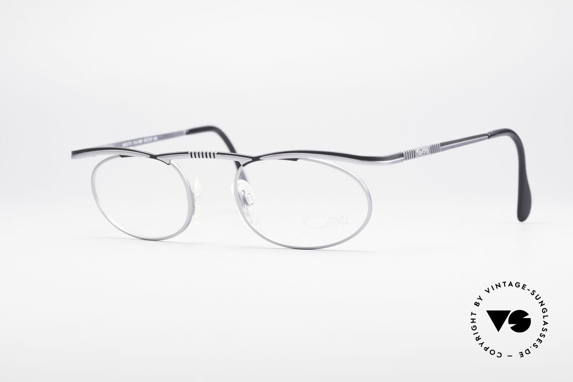 Cazal 771 90's Frame NO Retro Glasses, puristic oval vintage eyeglass-frame by CAZAL, Made for Men and Women