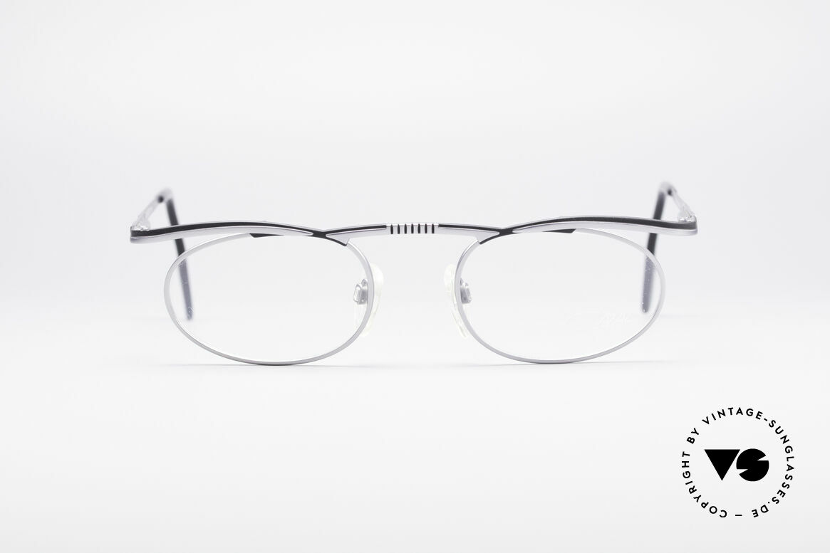 Cazal 771 90's Frame NO Retro Glasses, futuristic frame design with flexible spring hinges, Made for Men and Women