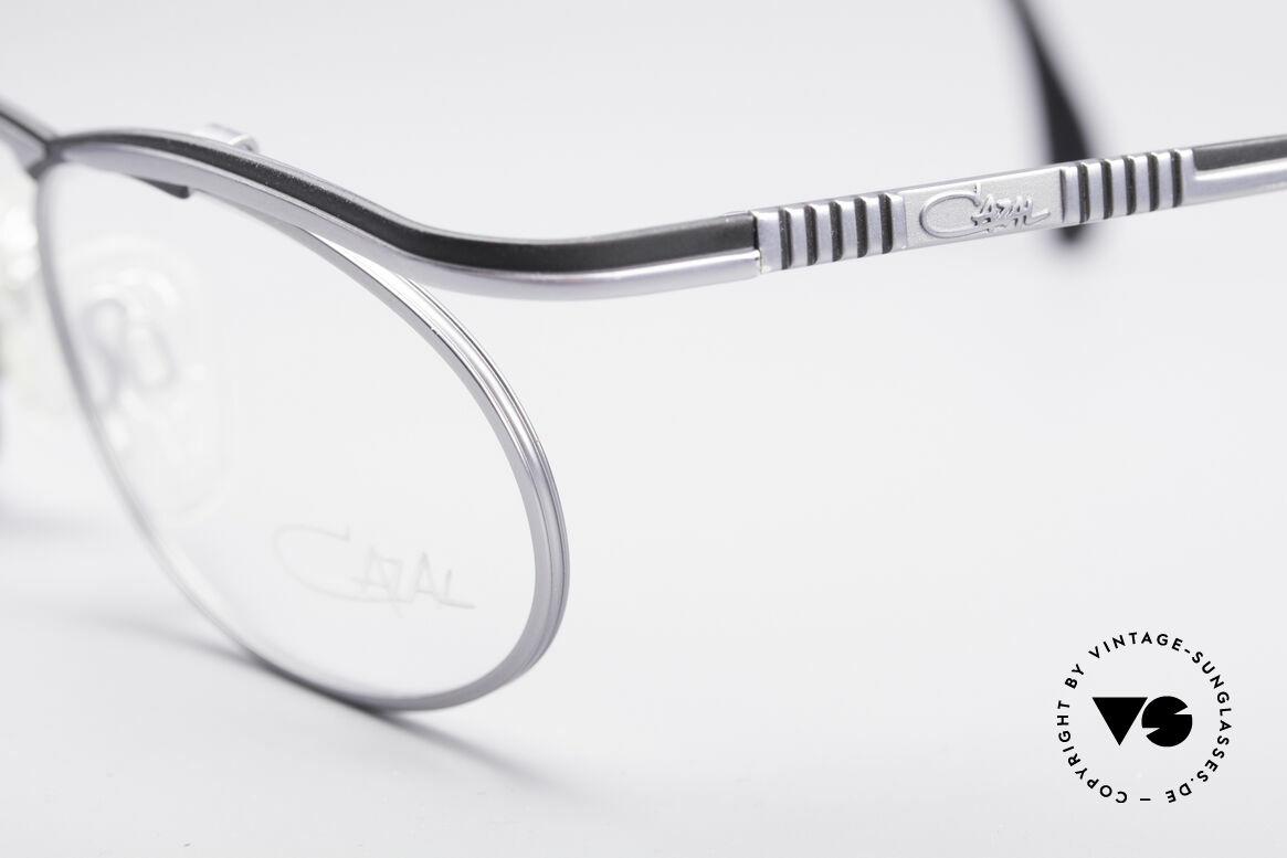 Cazal 771 90's Frame NO Retro Glasses, unique high-grade frame finish in TEFLON-BLACK, Made for Men and Women