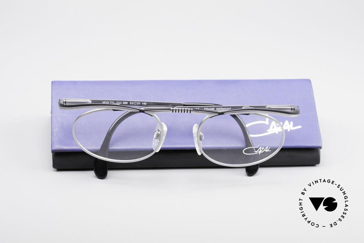Cazal 771 90's Frame NO Retro Glasses, frame is made for lenses of any kind (optical/sun), Made for Men and Women