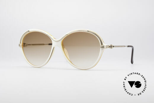 Christian Dior 2251 80's Ladies Shades Details