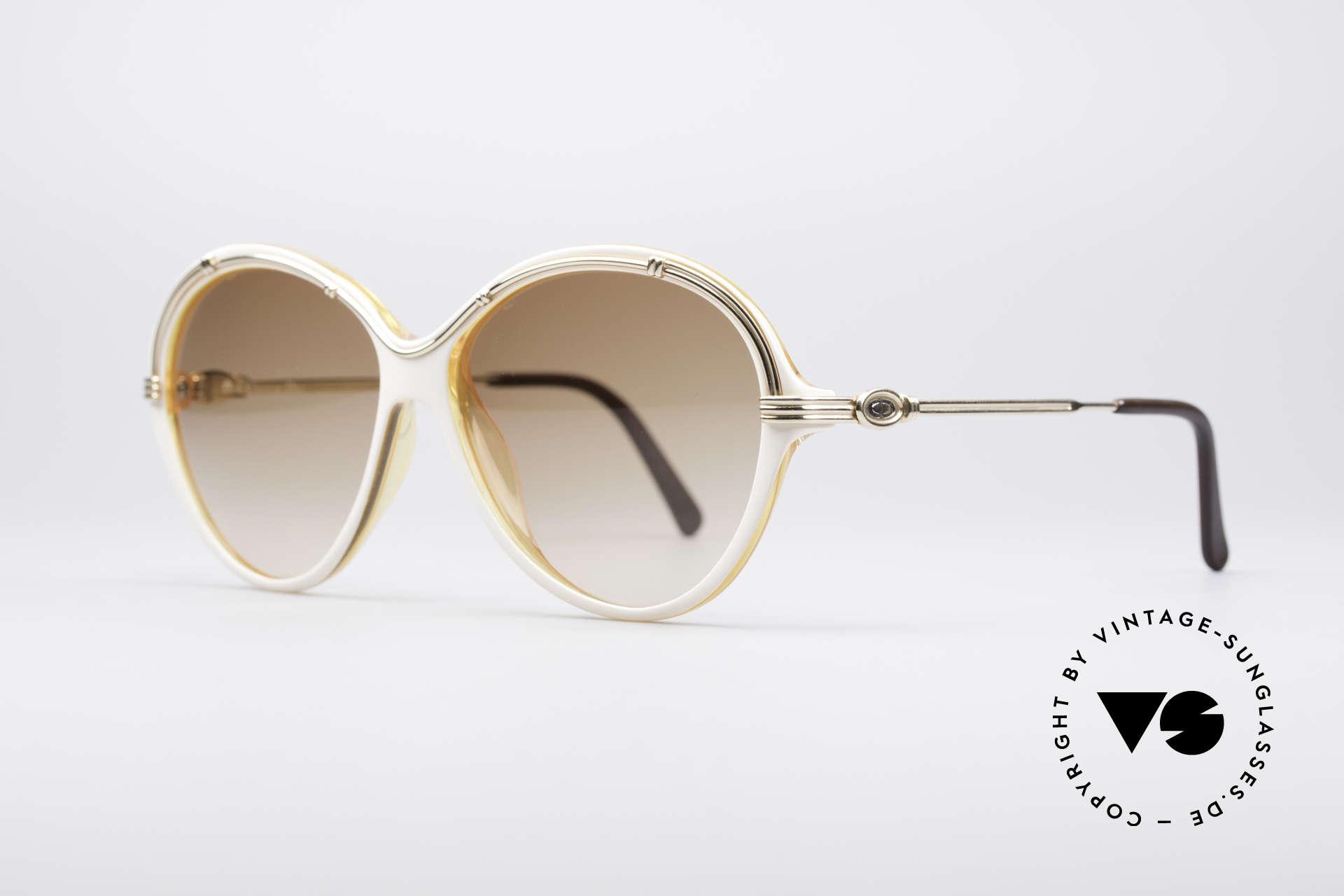 Christian Dior 2251 80's Ladies Shades, fantastic frame design; simply elegant & unique, Made for Women