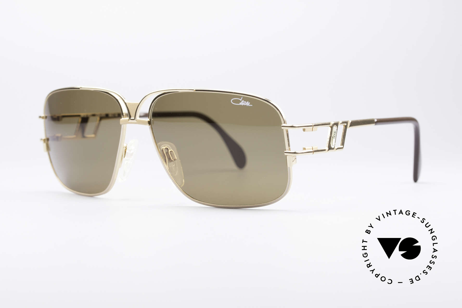 Cazal 971 Ultra Rare Designer Shades, very interesting frame design (something really different), Made for Men