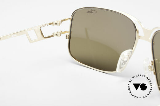 Cazal 971 Ultra Rare Designer Shades, orig. Cazal lenses with 'UV Protection' mark; true vintage, Made for Men