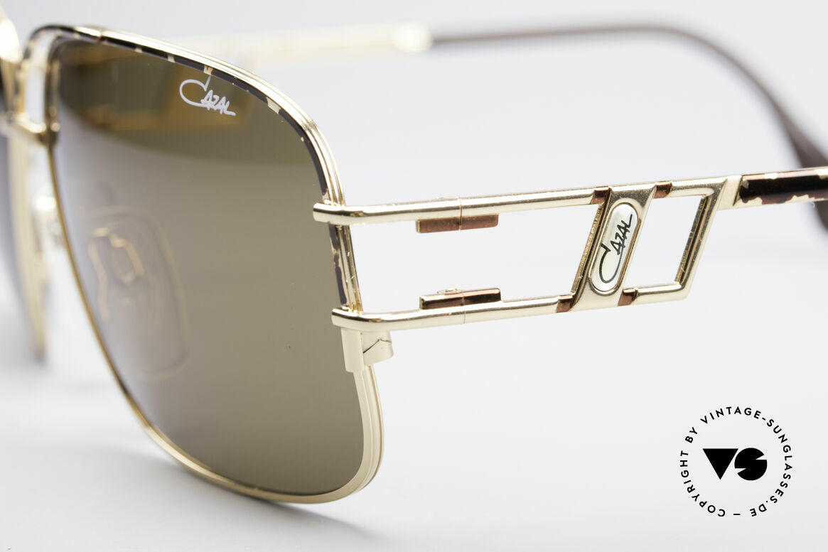 Cazal 971 Ultra Rare Designer Shades, new old stock (like all our iconic vintage Cazal eyewear), Made for Men