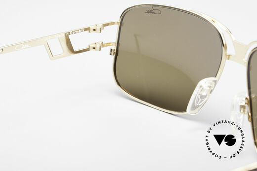 Cazal 971 Ultra Rare Designer Shades, orig. Cazal lenses with 'UV Protection' mark; true vintage, Made for Men