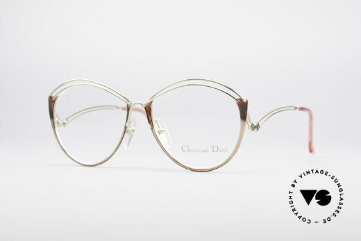 Christian Dior 2535 90's Ladies Frame Details