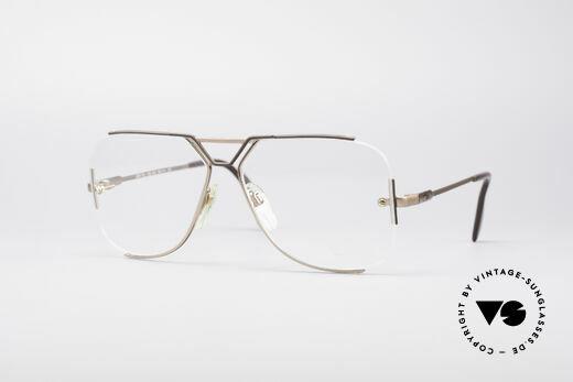 Cazal 722 Extraordinary Designer Frame Details