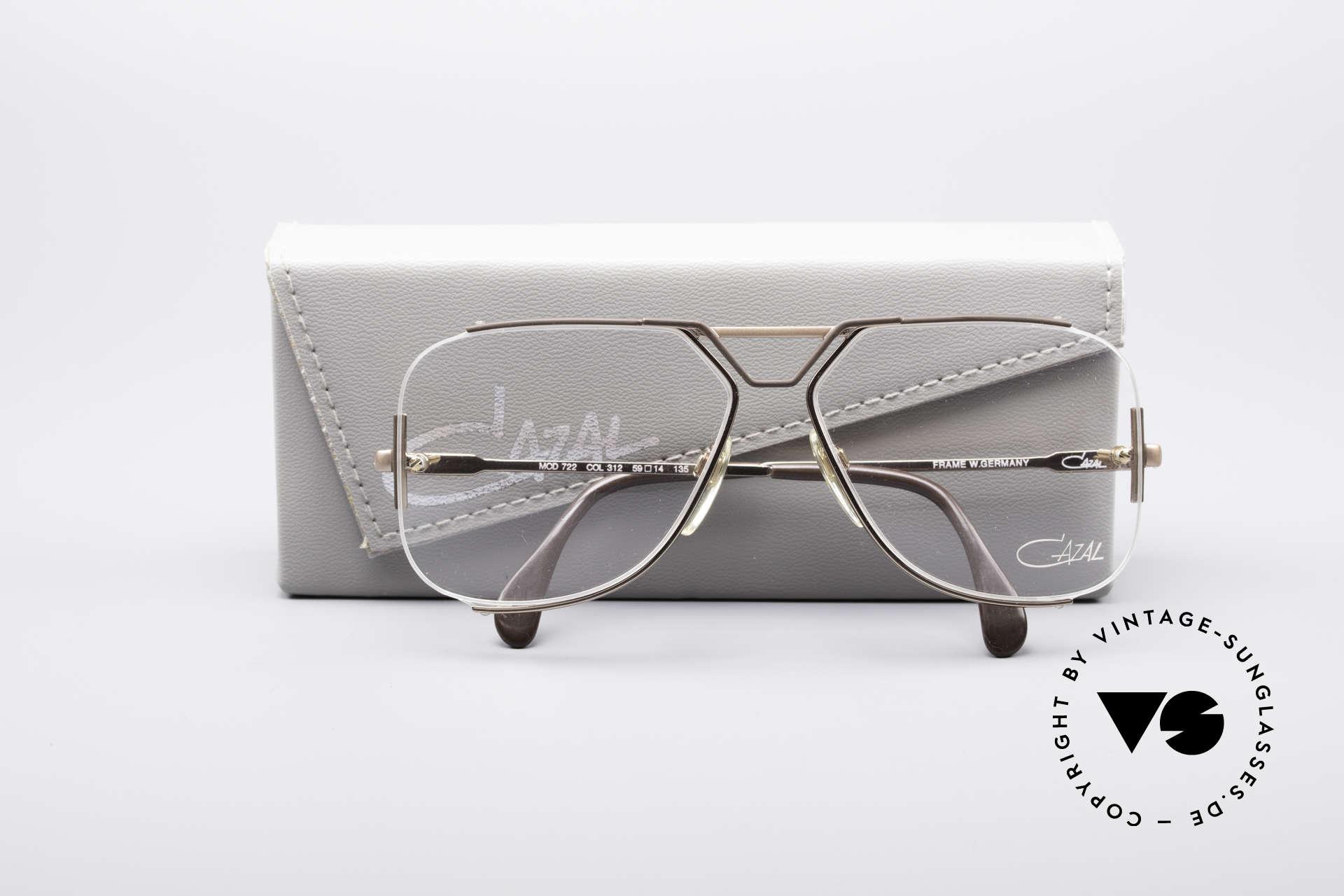 55bfc4a6c93 Glasses Cazal 722 Extraordinary Designer Frame