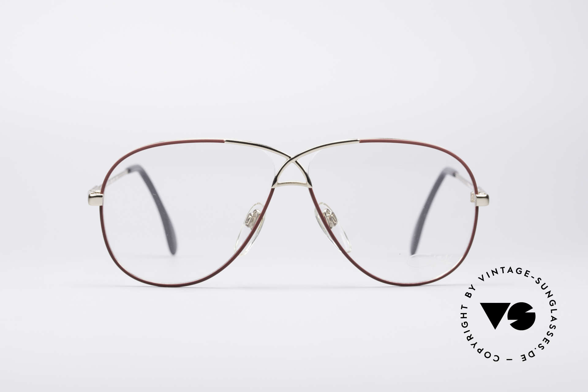 Cazal 728 Aviator Style Vintage Glasses, Cazal's response to the Ray-Ban 'Large Metal', Made for Men and Women