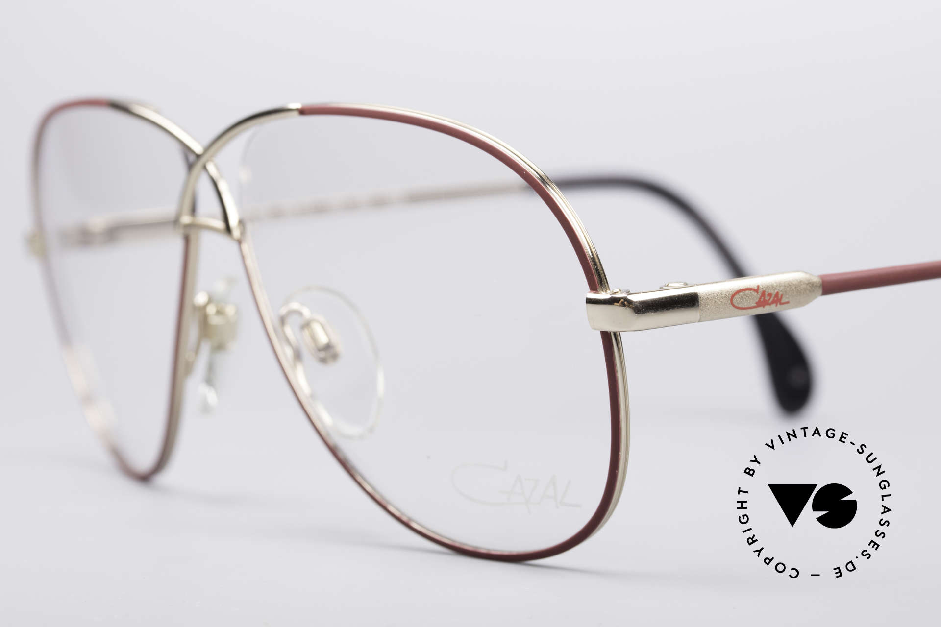 Cazal 728 Aviator Style Vintage Glasses, noble appearance, exquisite coloring and great fit, Made for Men and Women