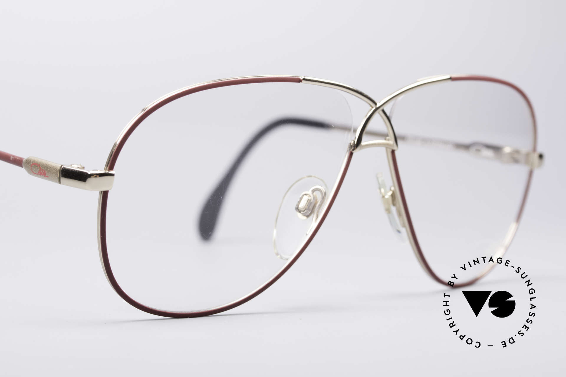 Cazal 728 Aviator Style Vintage Glasses, unworn condition 'new old stock' - truly vintage!, Made for Men and Women