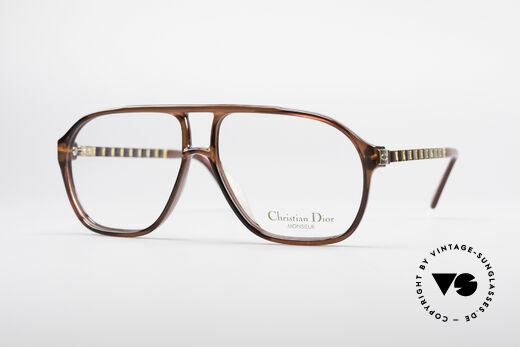 Christian Dior 2417 80's Men's Glasses Monsieur Details